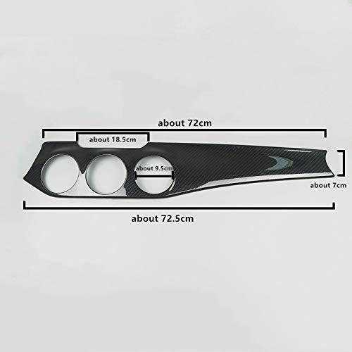SHES 2Pcs Set Fiber De Carbone Style ABS Voiture Console Centrale Climatisation Condition Panneau D/écoration ABS Pour GLA X156 CLA C117 2013-19