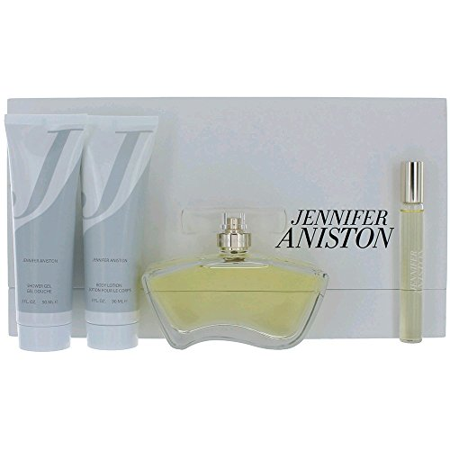 Edp 4 Piece Set (Jennifer Aniston Eau De Parfum Women 4 Piece Gift)