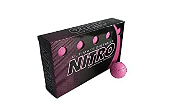 Nitro Ultimate Distance Golf Ball (15-Pack) by Amazon.com, LLC *** KEEP PORules ACTIVE ***