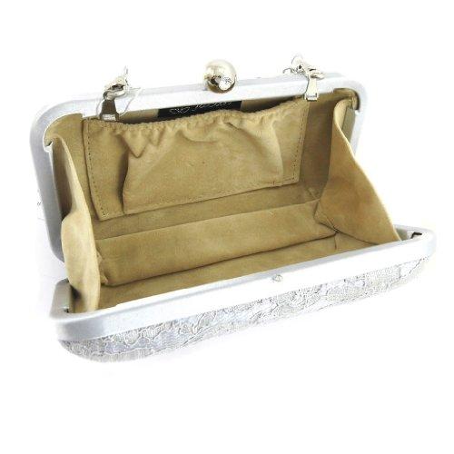 Sacchetto del sacchetto Dentellaargento.