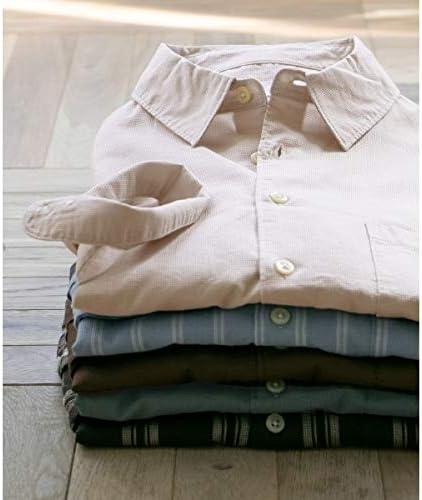 (URBAN RESEARCH DOORS) メンズシャツ(マイクロワッフル7分袖シャツ)