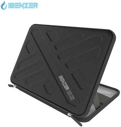 Black IBENZER Bumptect Pro 13 EVA Waterproof Protective Laptop Case