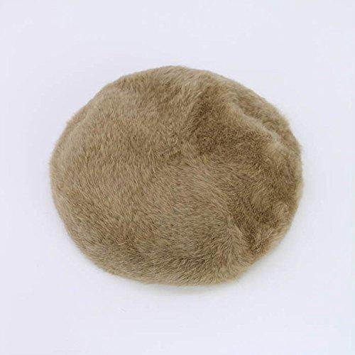 Amazon | (トレジャートプカピ) TREASURE TOPKAPI アンゴラベレー帽 [578-06-50002] 12 キャメル ONE SIZE | ハット 通販