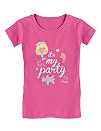 It's My Party - Lil Mermaid Birthday Gift Toddler/Kids Girls' Fitted T-Shirt