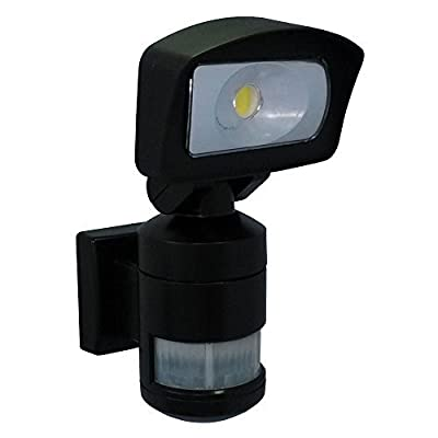 NightWatcher NW520B Robotic AC LED Security Light - Black by Nightwatcher