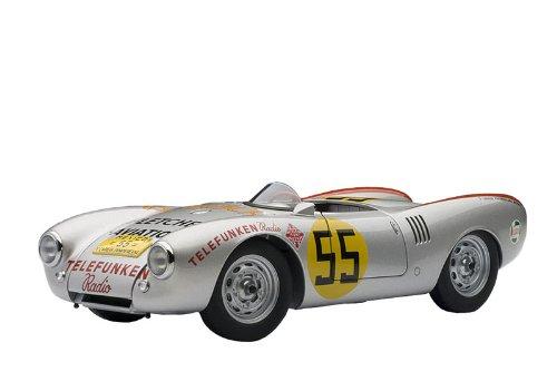 AUTOart Porsche 550-1500 Spyder Panamericana 1954 Hans Herrmann #55 in 1:18 Scale By