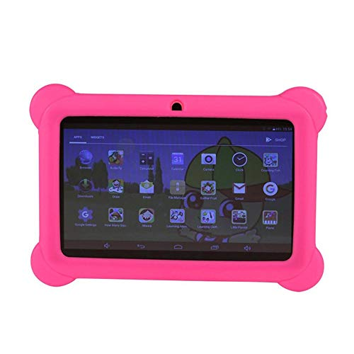 E.I.H. Tablet PC 7 inch Children Tablet Q88 512MB+4GB A33 Quad Core 0.3MP Dual Camera 1024600 WiFi Android 4.4 Tablet PC with Silicone Cover by E.I.H. (Image #3)