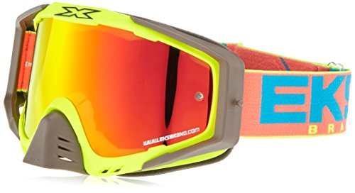 EKS S Series Masque de Motocross Mixte Adulte, Jaune