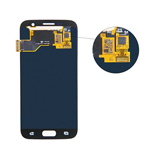 HJSDtech LCD Display Screen Touch Screen Digitizer Assembly Replacement for Samsung Galaxy S7 SM-G930 G930A G930F G930R4 G930P G930T G930V G930W8 (Black) by HJSDtech (Image #3)