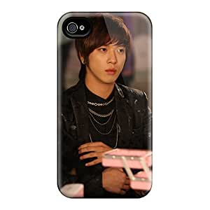 Rugged Skin Case Cover For Iphone 4/4s- Eco-friendly Packaging(yonghwa) by runtopwell