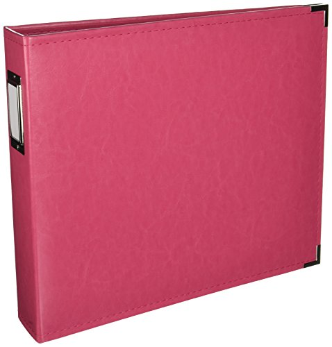 Faux Leather 3 Ring Scrapbook - 8