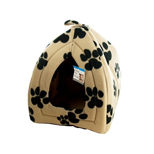 Kole KI-OF790 Cozy Fleece Indoor Pet House, One Size