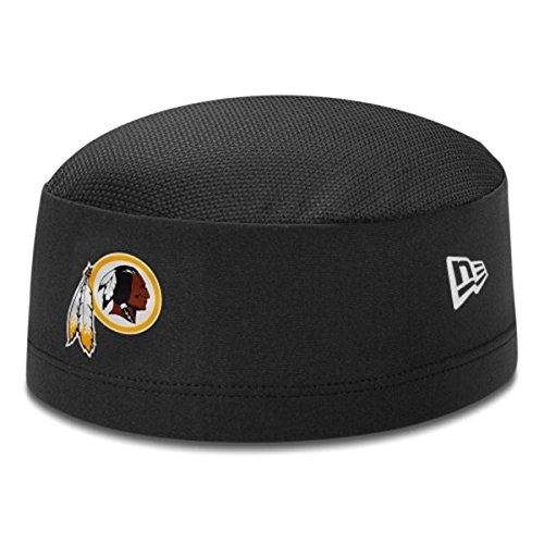 振り返る特性シダNew Era(ニューエラ) NFL ワシントン?レッドスキンズ スカルキャップ Training Skull Performance Cap (ブラック)