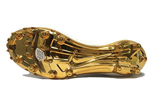 Nike Mens Special Promo Zoom Code Elite 3/4 Td Tacchetti Da Calcio Bianco / Nero Metallizzato Oro