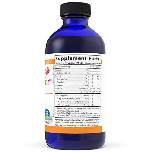 Nordic Naturals Pro DHA Junior Liquid - Fish Oil, 170 mg EPA, 255 mg DHA, Support for Healthy Neurological, Nervous System, Eye, and Immune System Development*, 4 oz. by Nordic Naturals (Image #2)