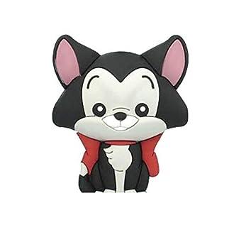 Llavero Animales Disney Figaro Gato pinocho Monogram Caucho ...