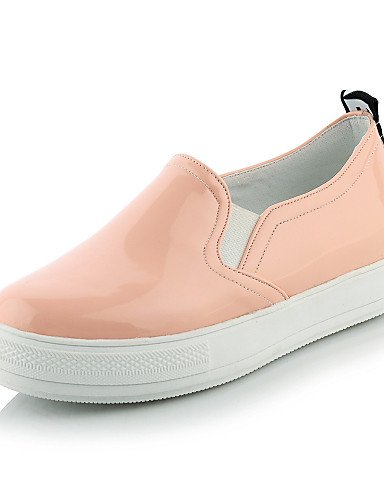 negro Pink Eu43 4 Uk9 semicuero Blanco plataforma Zq us11 punta Gyht mocasines Mujer Cn44 2 White Eu34 Zapatos casual Redonda 5 Uk2 De us4 Cn33 Rosa 5 ZwwOCpqv