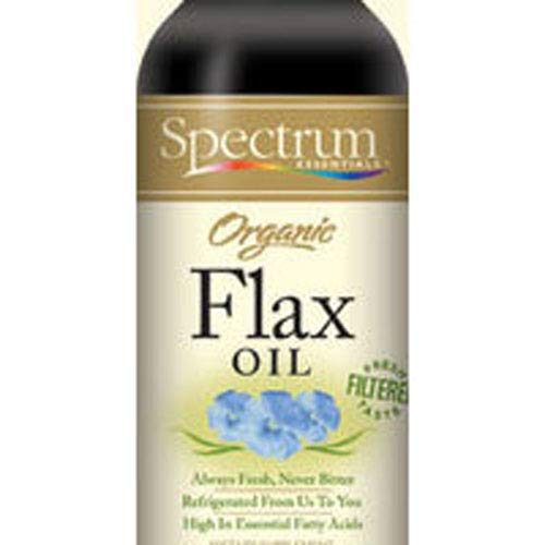 Spectrum Essentials Organic Flaxseed Oil, 24 Ounce - 3 per case. by Spectrum