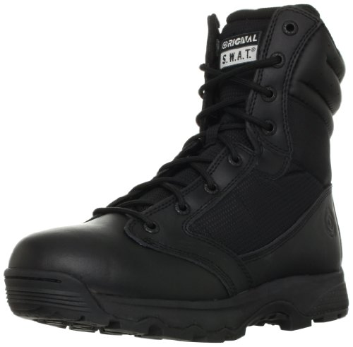Original S.W.A.T. Men's WinX2 8-Inch Side-Zip Tactical Boot, Black, 8.5