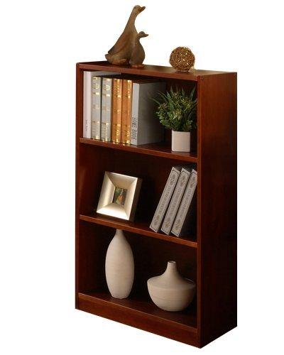 (Discovery World Furniture Bookshelf, Merlot, 42-Inch)