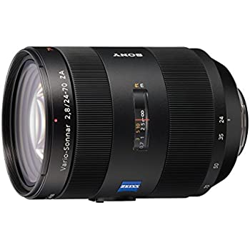 Sony 24 -70mm f/2.8 Carl Zeiss Vario Sonnar T Zoom Lens for Sony Alpha Digital SLR Cameras