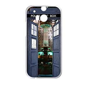 Blue police box Cell Phone Case for HTC One M8