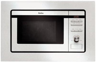 Amica AMMB20E1GI Horno Microondas, 800 W, 20 litros, Gris ...