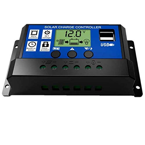 JZK 20A 12V/24V Intelligent solar panel charge controller with LCD display...