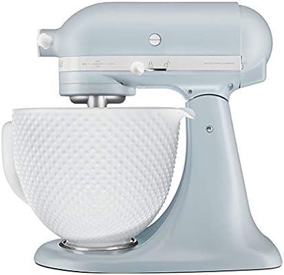 KitchenAid Artisan 5KSM180RC - Robot de cocina (4,8 L, Azul, 1,45 m, AC, Cerámico, 300 W): Amazon.es: Hogar