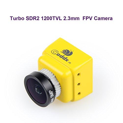 Caddx FPV Camera Turbo SDR2 1200TVL 2.3mm Lens FOV 160 Degree IR Blocked 1/2.8
