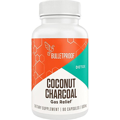 (Bulletproof Coconut Charcoal, Supports Better Digestion and Gas Relief (90 Capsules) )