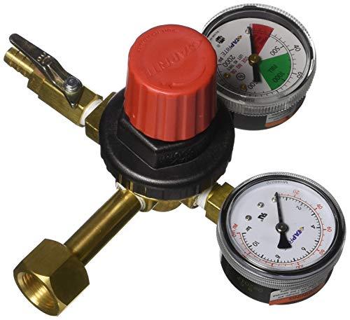 TAPRITE 742HPN CO2 NITROGEN TANK BEER REGULATOR HIGH PRESSURE DUAL GAUGE NEW 5/16