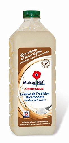 0adda90fff4ac Maison Net Lessive de Tradition au Bicarbonate Parfum Fraîcheur de Provence  30 Lavages 1