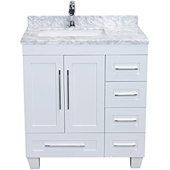 Eviva EVVN999 30WH Loon 30 Inch Long Handles (Acclaim Edition) Transitional Bathroom  Vanity