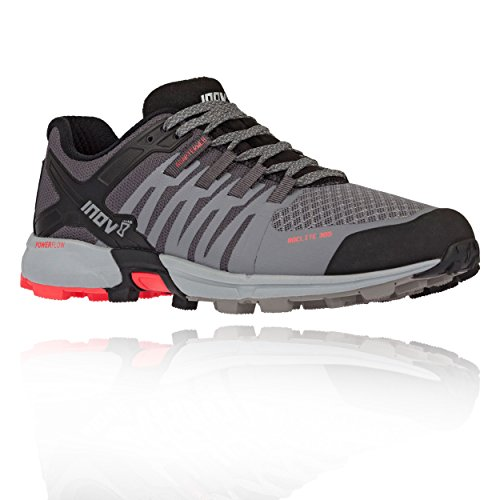 Inov8 Roclite 305 Womens Trail Running Shoes Grey Coral