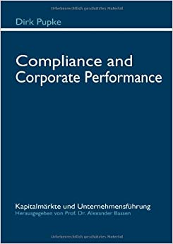 Compliance and Corporate Performance