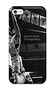 New Style nba basketball derrick rose selective coloring bulls chicago bulls atlanta hawks NBA Sports & Colleges colorful iPhone 5/5s cases 5535042K978999250