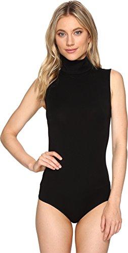 - Wolford Women's Mock Neck Bodysuit, Black, Large