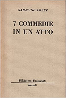Book 7 commedie in un atto