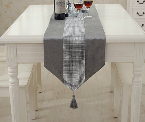Très Chic Mailanda Table Runner Housing Decor for Dining Room Bohemian Table Decoration Farmhouse Style Table Mats(71