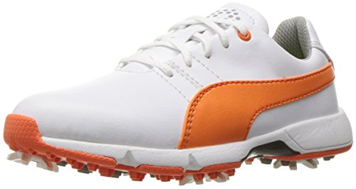 f3d4f30a2027 Puma Golf Unisex-Kids Titantour Cleated JR Shoes