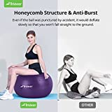 Trideer Extra Thick Yoga Ball Exercise Ball, 5