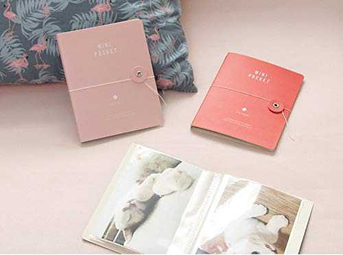 There's Mini Pocket Photo Album Pack of 4, Each Mini Photo Album Holds Up to 40 4x6 Photos, Photo Album Memory Book, 20 Page 4 x 6'' Photos, 5.1'' x 0.3 x 6.4'', (Pack of 4) by There's (Image #3)