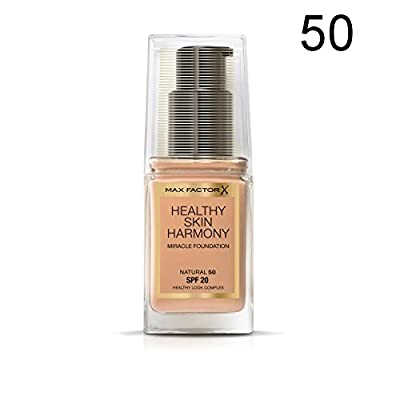 2 x Max Factor Healthy Skin Harmony Miracle Fond de teint - 50 Natural