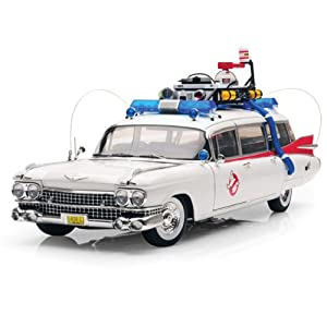 ghostbusters diecast modell 1 18 ecto 1 1959 cadillac. Black Bedroom Furniture Sets. Home Design Ideas