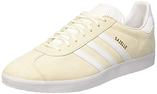 Mixte Baskets White off Adidas white gold Blanc Basses Met Adulte Gazelle qBxS1ftw