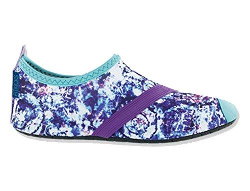 FitKicks Womens Flexible Flats - Active Lifestyle Schuhe - für Komfort und High Heel Relief Wolke platzen