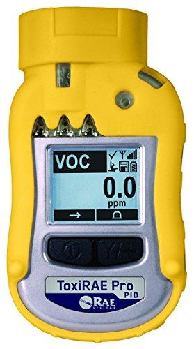 ToxiRAE Pro 10.6 eV PID (1 - 1,000 ppm range, 1 ppm res.) (Wireless)
