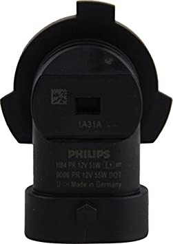 Philips H7 Vision Upgrade Headlight Bulb with up to 30/% More Vision 2 Pack