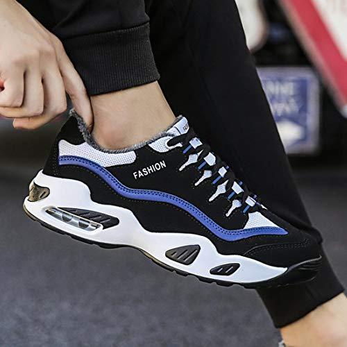 Chauds Mode Pour Sport Hommes Lacets Chaussures La De Bottes À Confortable Légers Maille Occasionnels Hiver Garder zq1Zw5R